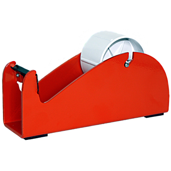 Single roll desktop tape dispenser